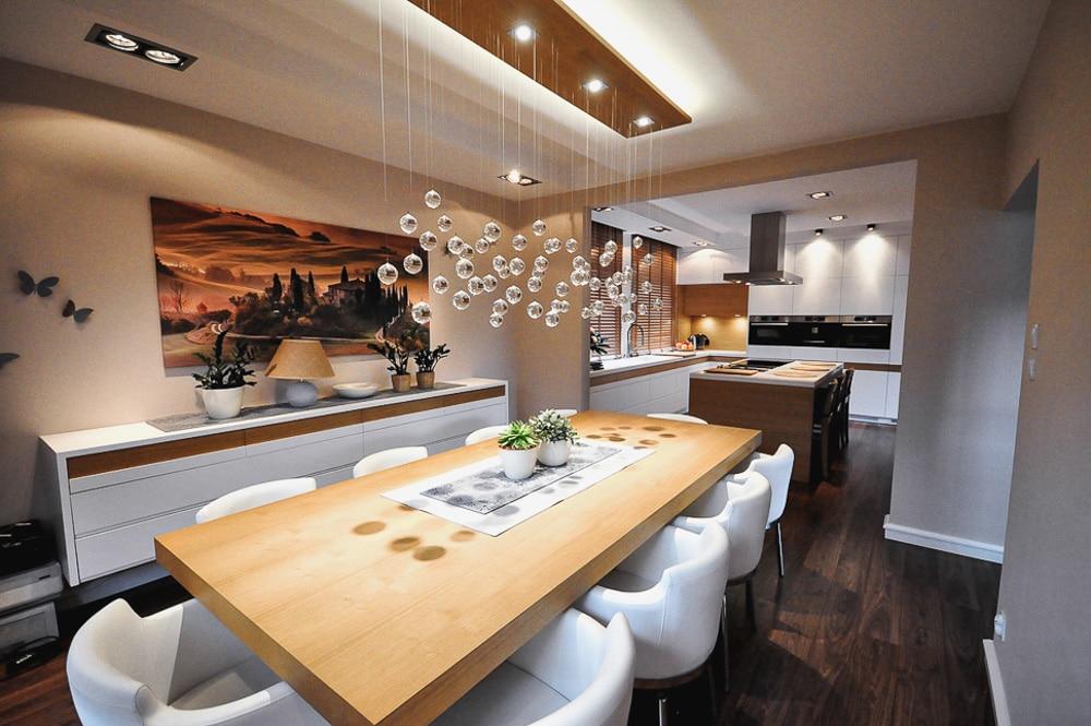 Aranżacja Kuchnia #10, stworzona i wykonana przez warsztat Don't Worry, tworzący aranżację wnętrz oraz wykonujący meble na zamówienie.