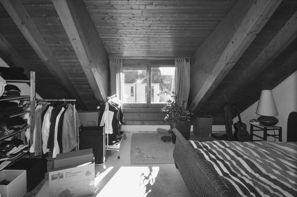 Remont w Domu #7, wykonany przez warsztat Don't Worry, tworzący aranżację wnętrz oraz wykonujący meble na zamówienie.