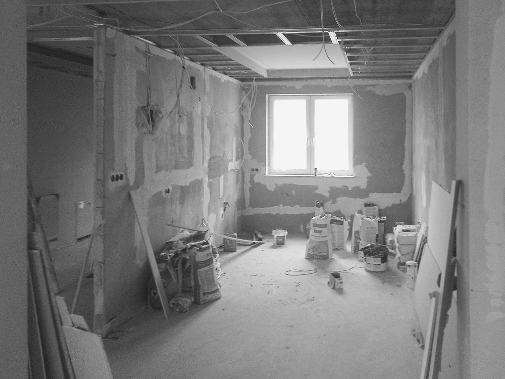 Remont w Domu #9, wykonany przez warsztat Don't Worry, tworzący aranżację wnętrz oraz wykonujący meble na zamówienie.