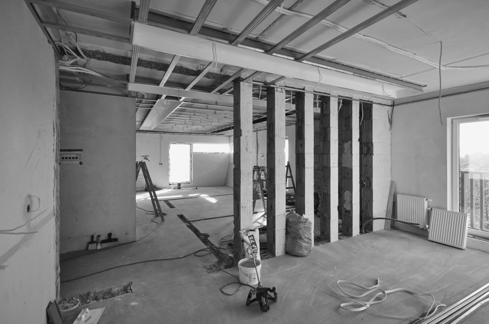 Aranżacja Mieszkania #3, stworzona i wykonana przez warsztat Don't Worry, tworzący aranżację wnętrz oraz wykonujący meble na zamówienie.