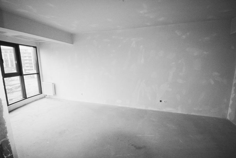 Aranżacja Mieszkania #5, stworzona i wykonana przez warsztat Don't Worry, tworzący aranżację wnętrz oraz wykonujący meble na zamówienie.